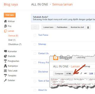 Laman Sitemap