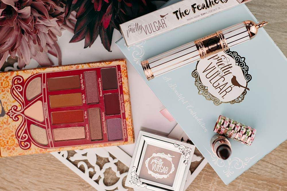 New in Pretty Vulgar Flatlay