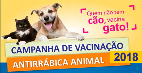 Camutanga: Campanha de vacinação contra raiva é neste Sábado(15)