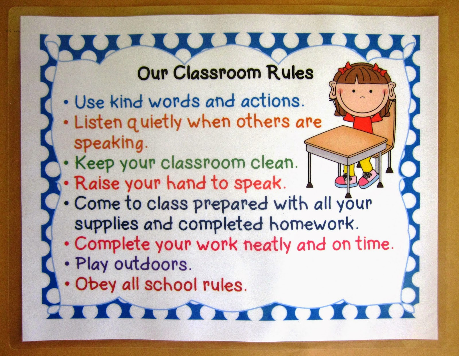 Nyla S Crafty Teaching Free Posters Positive Classroom
