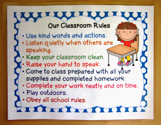 Free Posters - Positive Classroom Rules