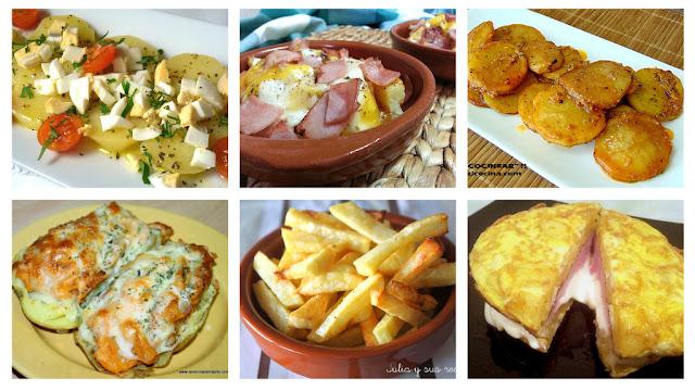 6 Recetas con patatas fáciles y variadas II