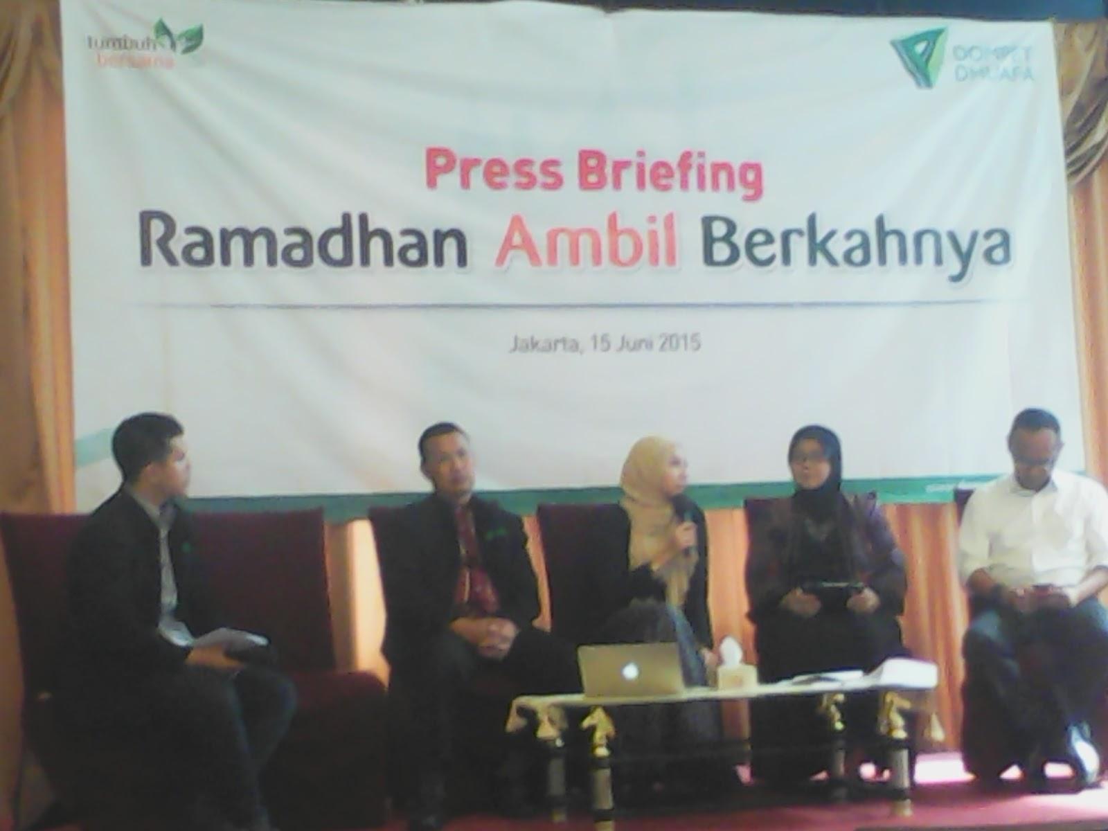 Dompet Dhuafa Sasar 16000 Penerima Manfaat Jakarta Forum