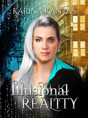 Illusional Reality, Karina Kantas, new adult, fantasy, romance, book review, On My Kindle Book Reviews