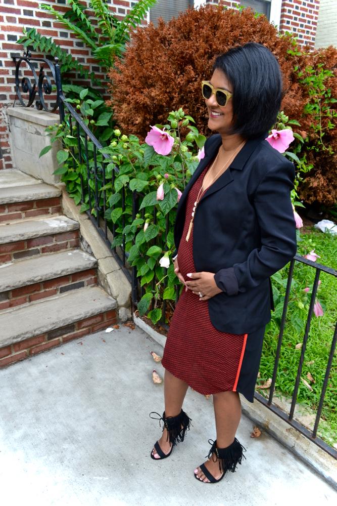 5 months pregnant fashion