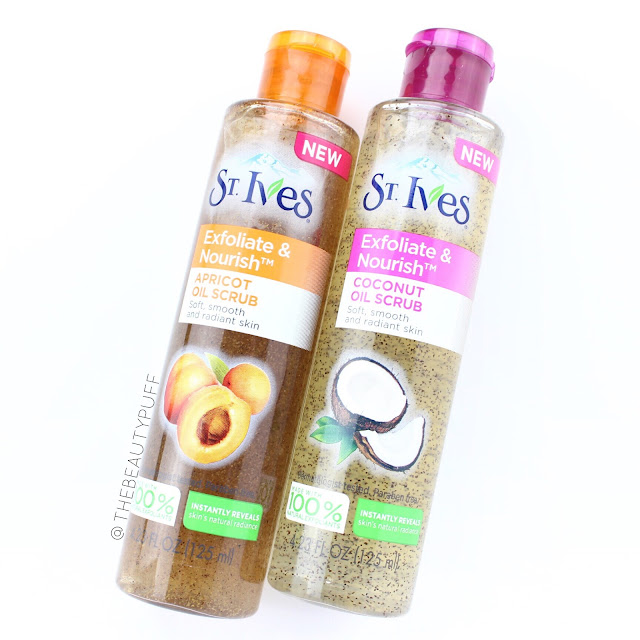 st ives oil scrub  | the beauty puff