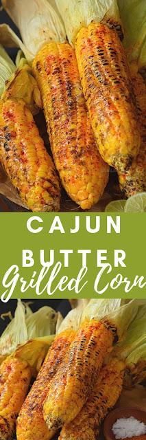 Cajun Butter Grilled Street Corn