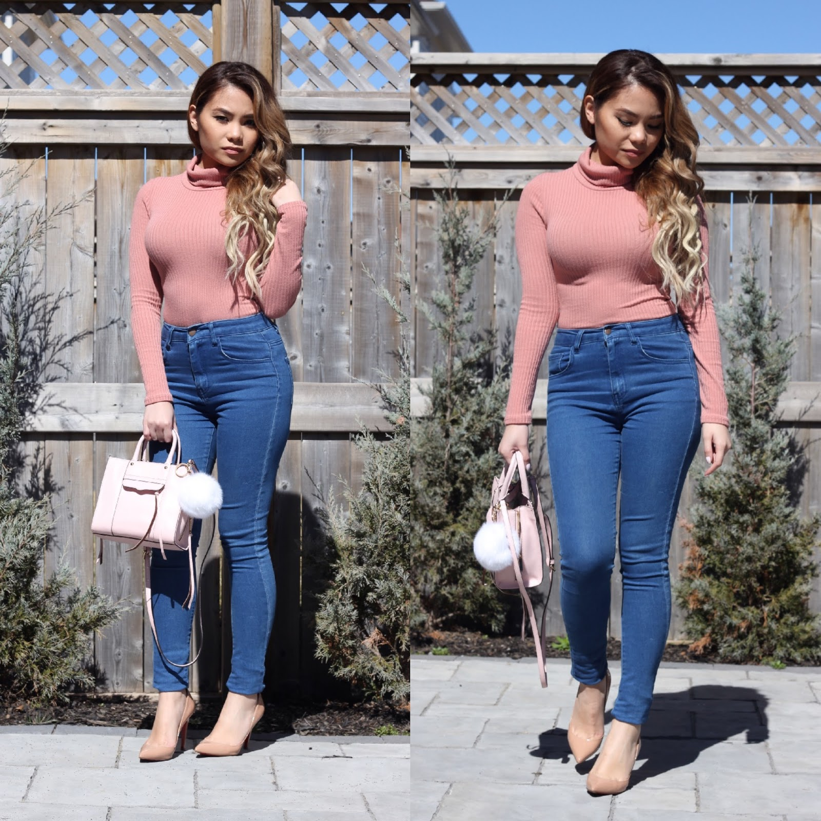 BLUSH X TURTLENECKS