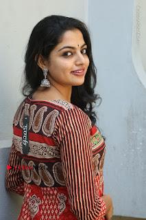 Telugu Actress Nikhila Vimal Latest Stills in Anarkali Dress  0109.JPG