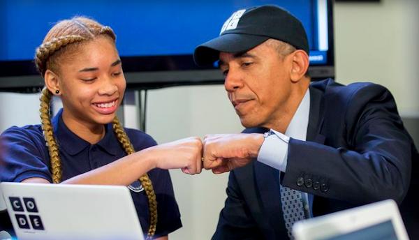 學程式很重要!美國總統歐巴馬提40億推動程式教育