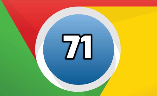 جوجل تطلق متصفح كروم 71 مع التركيز على ميزات الأمان