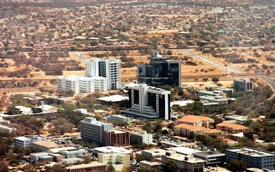 Centro de Gaborone – Botsuana