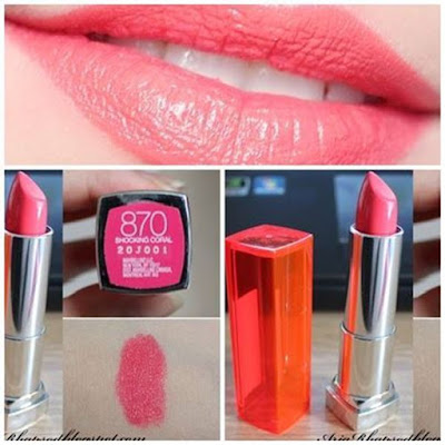 Son môi Maybelline Color Sensational Creamy Matte LipColor 870 - SM23
