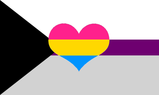 Demisexual flag