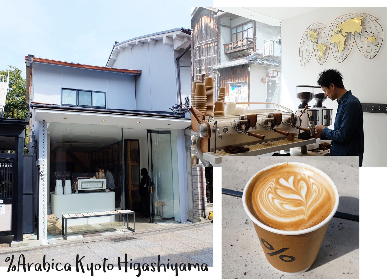 One Day 6 places Kyoto Arabica Higashiyama | www.bigdreamerblog.com