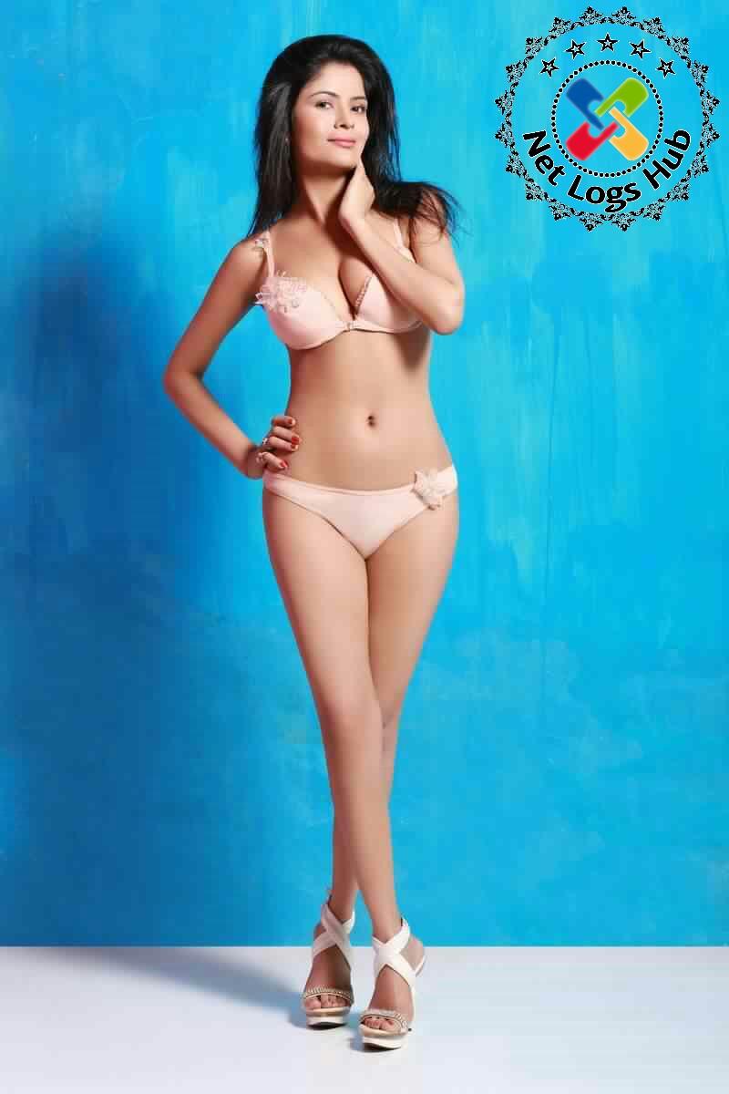 Gehana Vasisth Wears Bra and Panty in a Bikini Exposed Sexy Boobs, Navel Curves and Hot Thunder Thighs - NetLogsHub