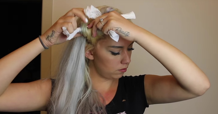How To Curl Your Hair Using Only Toilet Paper