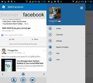 BBM WINDOWS PHONE FACEBOOK V3.0.1.25 MOD TERBARU