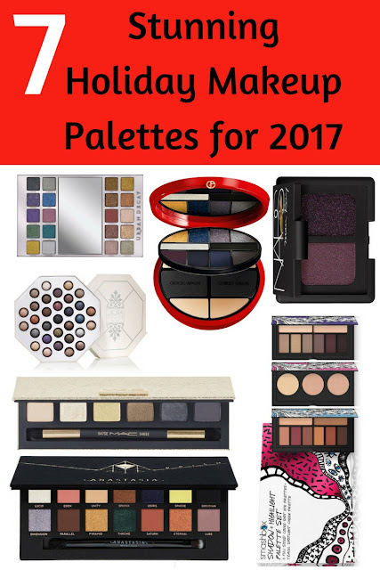 7 Holiday Collection Makeup Palettes for 2017