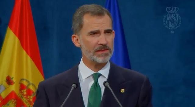"""Felipe VI: """"la independencia de Catalunya nunca llegará"""""""