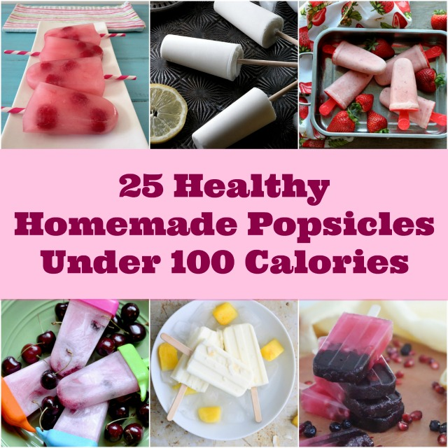 Low Calorie Popsicle Recipes Roundup; Becky Cooks Lightly
