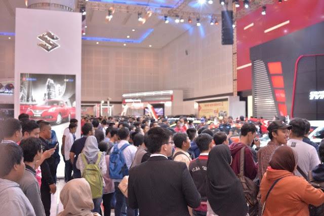 Jumlah pengunjung GIIAS Surabaya 2017