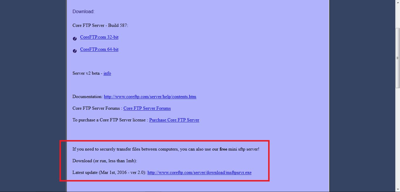 Nostra Technology: FTP & SFTP Server Portable