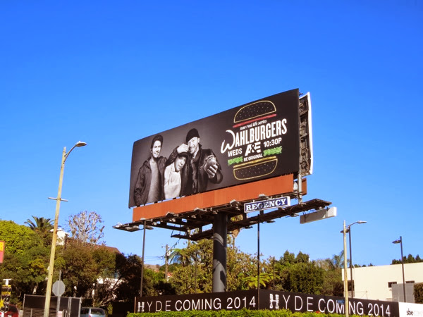 Wahlburgers series 1 billboard