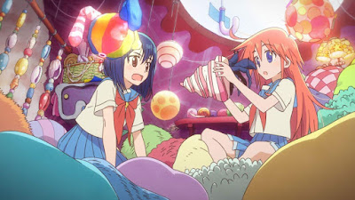 Flip Flappers Cocona and Papika