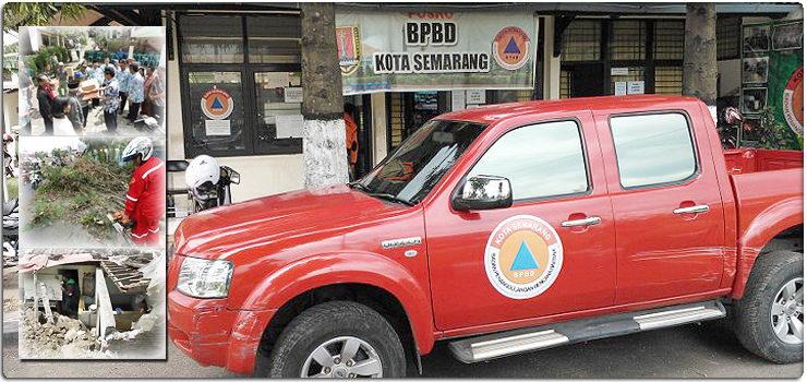 Posko BPBD Kota Semarang