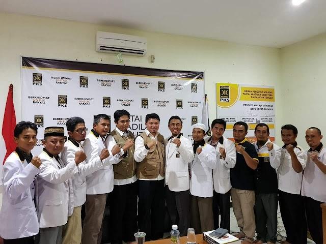 PKS kalteng Optimis di Tahun 2018 Elektabilitas PKS di Kalteng Naik