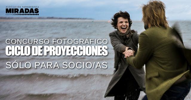 Concurso 'Ciclo de proyecciones'. Sólo para socio/as.