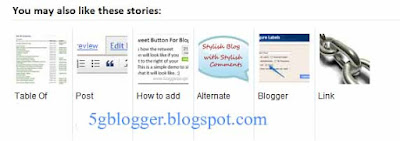 adding related post widget in blogger