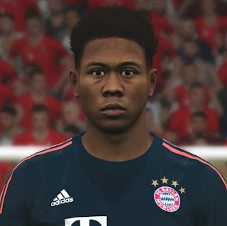PES 2017 Faces David Alaba by Ben Hussam FaceMaker