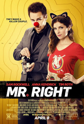 Mr. Right 2015 DVD R1 NTSC Latino