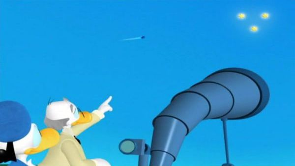 Is your telescope | Mickey's Comet