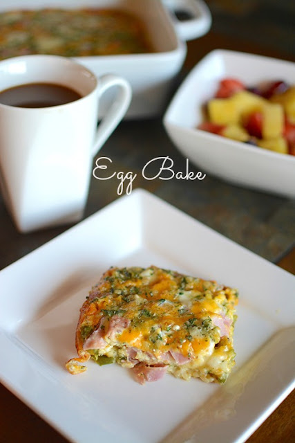 The Best Damn Egg Bake | My Darling Days