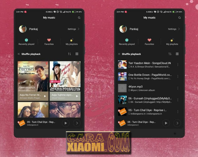 Link Download Tema MIUI Xiaomi Black os Light Mtz Terbaru