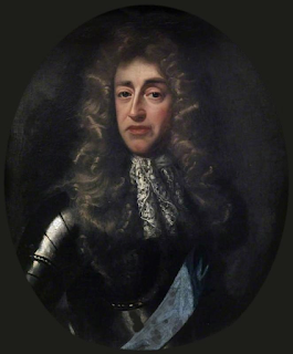 James II of England, whose appearance was said to have shocked the young Maria Beatrice
