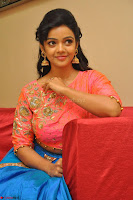 Nithya Shetty in Orange Choli at Kalamandir Foundation 7th anniversary Celebrations ~  Actress Galleries 116.JPG