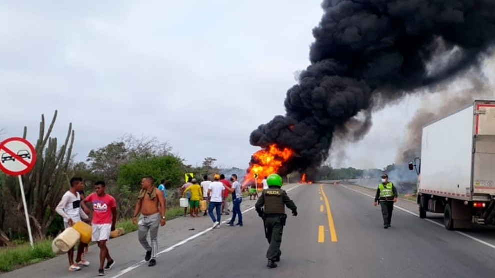 Diez es la cifra de muertos del accidente en #Tasajera, #Magdalena