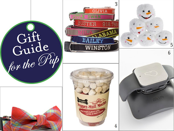 Gift Guide: For the Pup