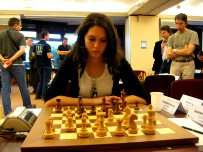 Natacha Benmesbah devient championne de France universitaire d'échecs 2016 © Chess & Strategy