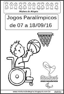 Atividades sobre jogos paralímpicos 2016