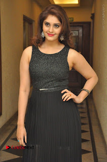 Actress Surabhi Stills in Black Long Dress at turodu Audio Launch  0066.JPG