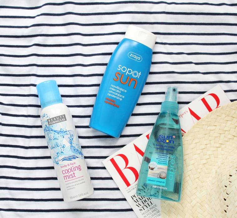 Najlepsze kosmetyki do ciała po opalaniu Ziaja, SunOzon, Beauty Formulas