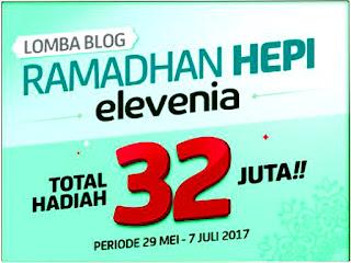 lomba blog, blog elevenia, blog elevenia 2017, ramadan blog elevenia