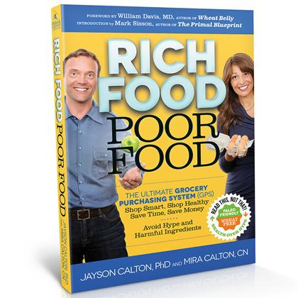 Rich Food Poor Food, books, food additivies, groceries, new books