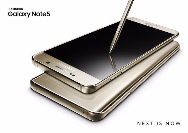 Samsung Galaxy Note 5 - Key Visual
