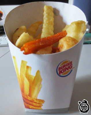 FATGUYFOODBLOG: Burger King's Fry Burger and Satisfries ...